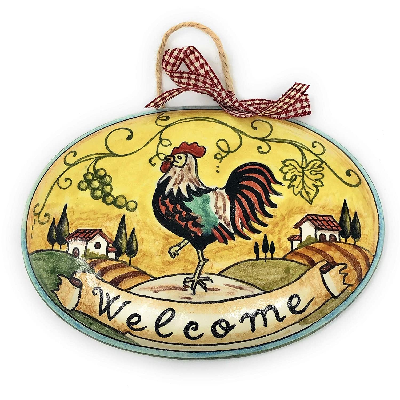 Tuscany Rooster Bottle Gift Bag