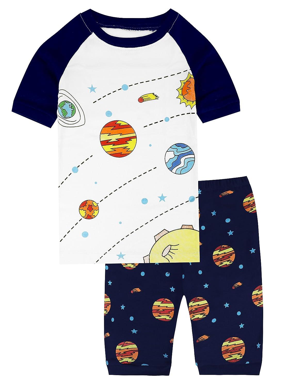 6d7f8b6e1ec8 Mua sản phẩm Pajamas for Boys Car Cartoon Summer Cotton Sleepwear ...