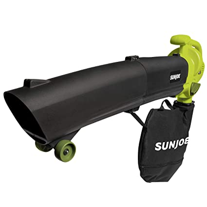 Amazon.com: Sun Joe 3-in-1 Blower aspiradora y Leaf Shredder ...