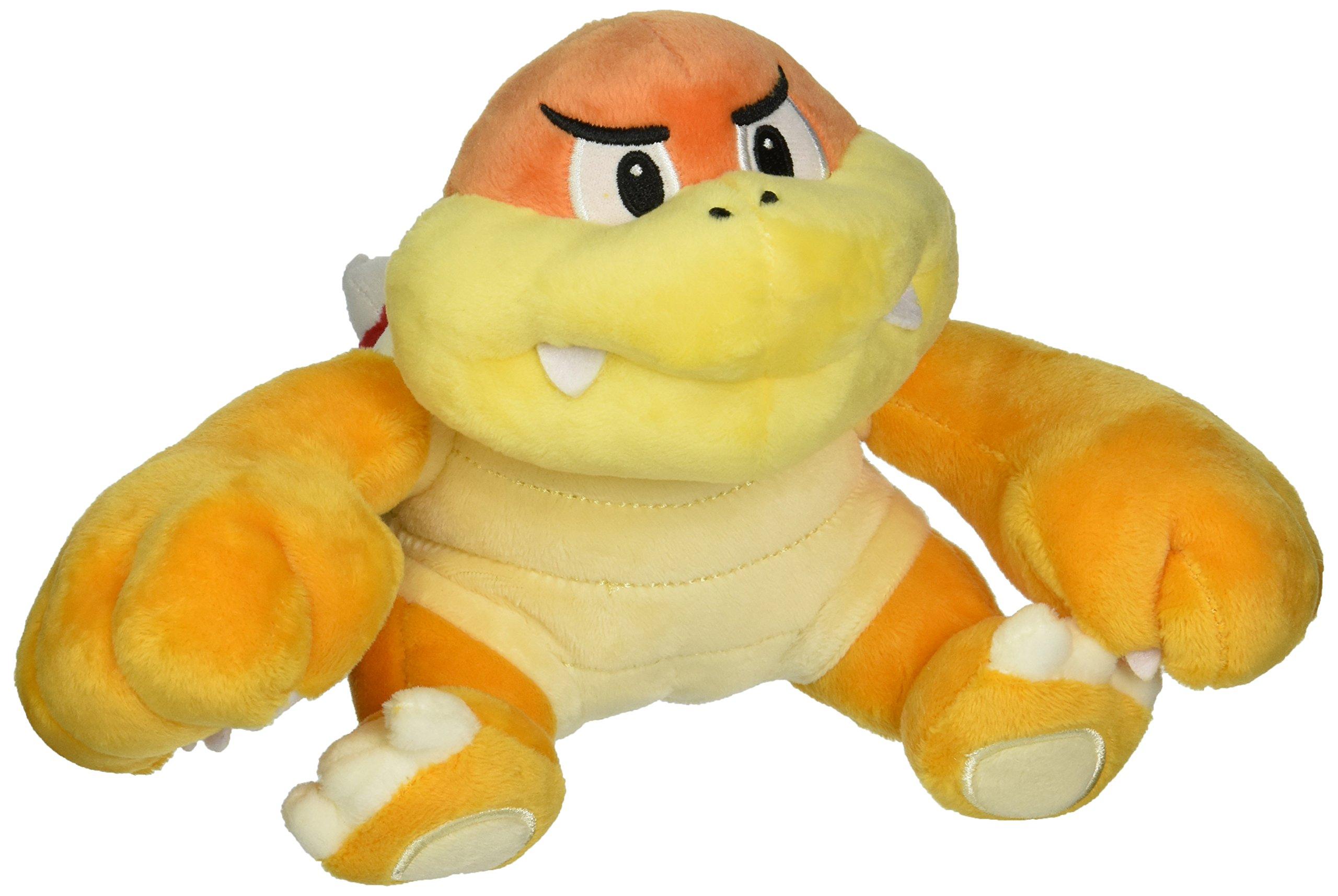 Little Buddy USA Super Mario All Star Collection Bun Bun/Boom Boom Stuffed Plush, Yellow, 6.5'' by Little Buddy
