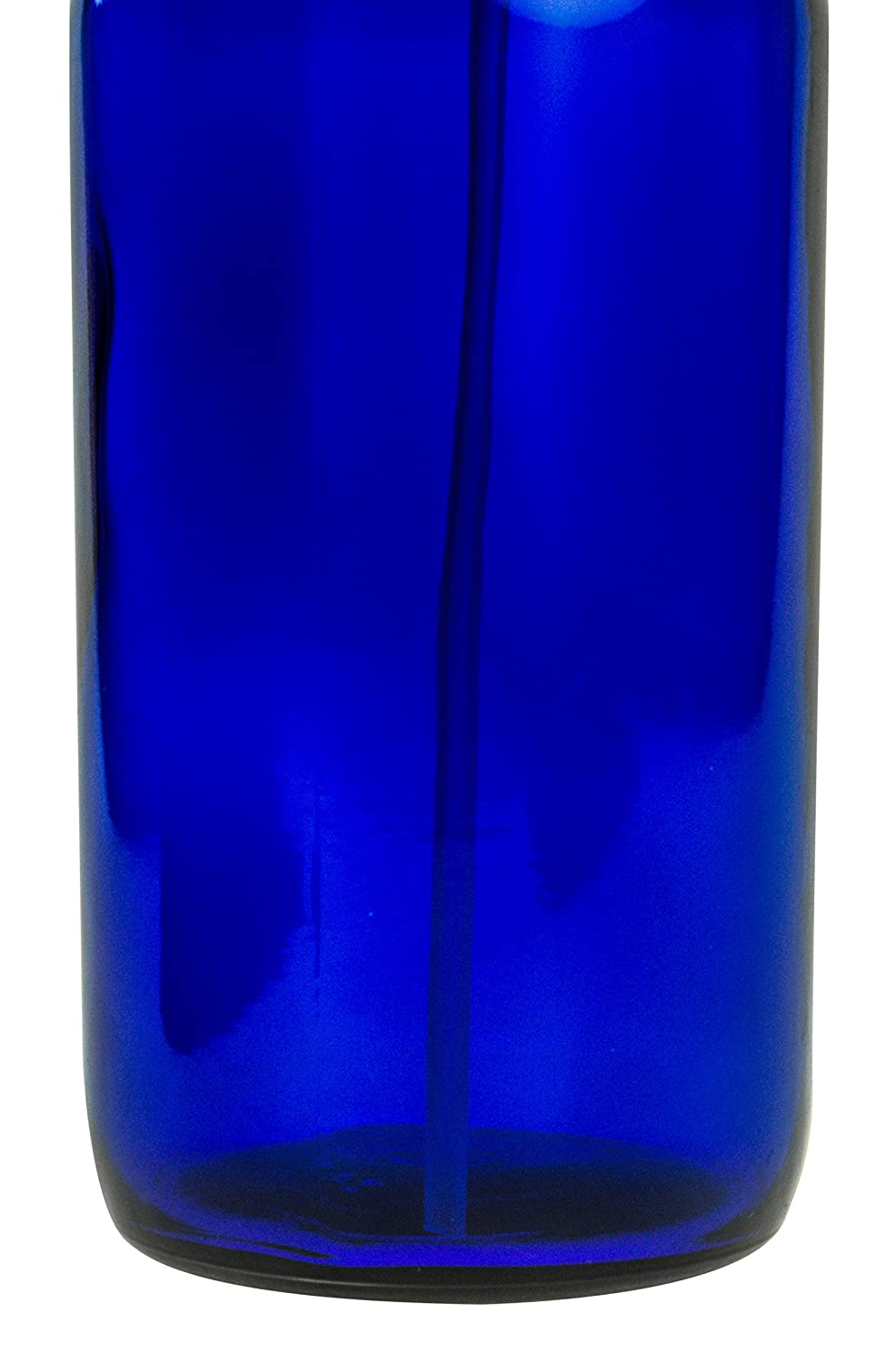 Blue Glass Spray Bottle - Large 16 oz Refillable Container for Essential Oils, Cleaning Products, or Aromatherapy - Black Trigger Sprayer w/Mist and Stream Settings - 6 Pack: Industrial & Scientific