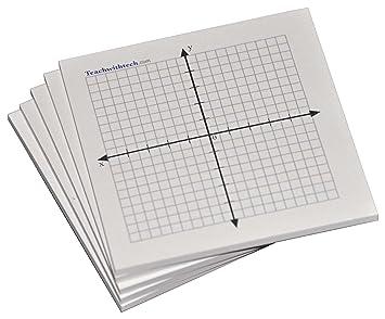 Amazon.com : Sticky Note Mini Graph Pads - 5 Count - Graph Paper ...