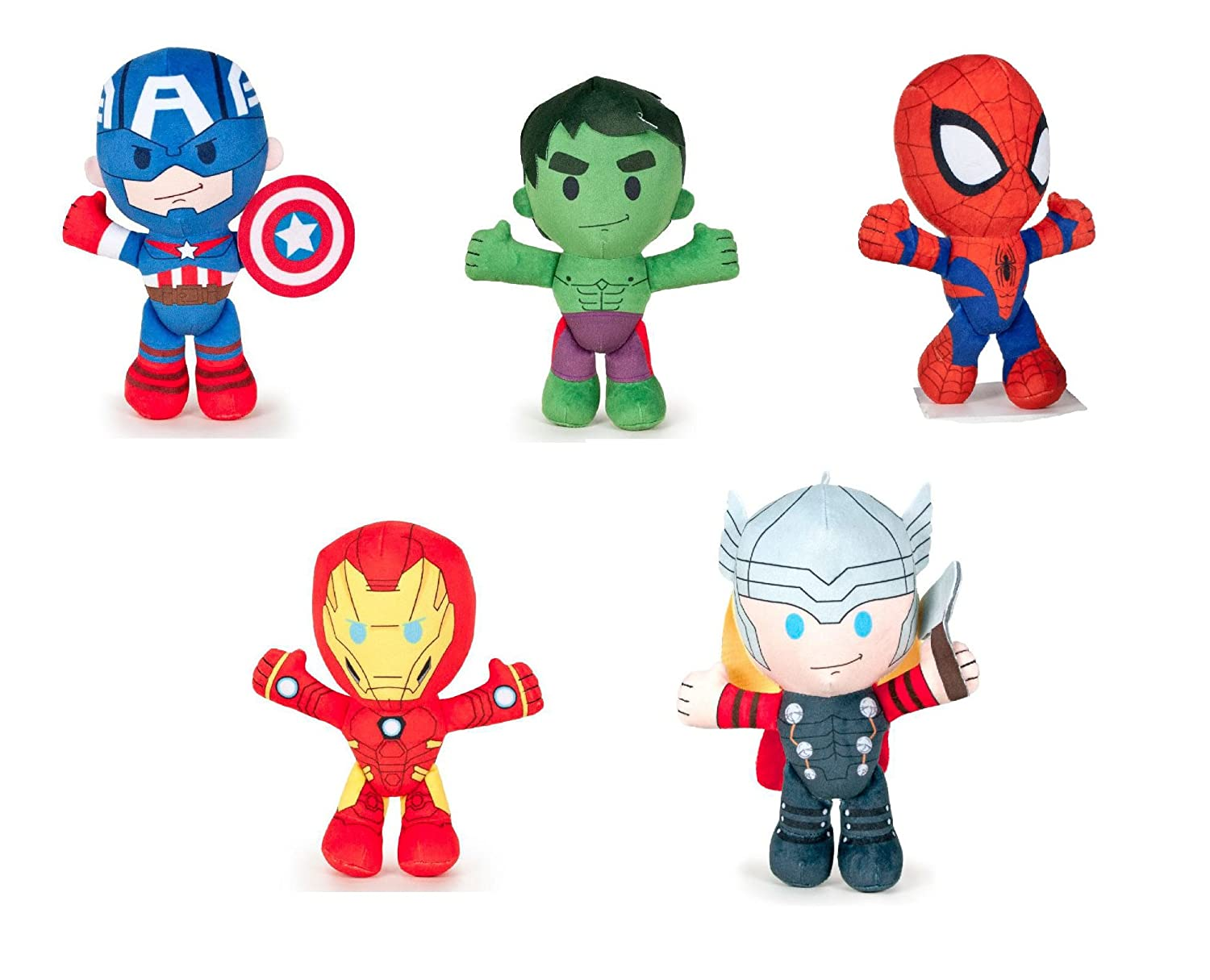 Los Vengadores (The Avengers - Marvel) - Peluche Iron Man ...