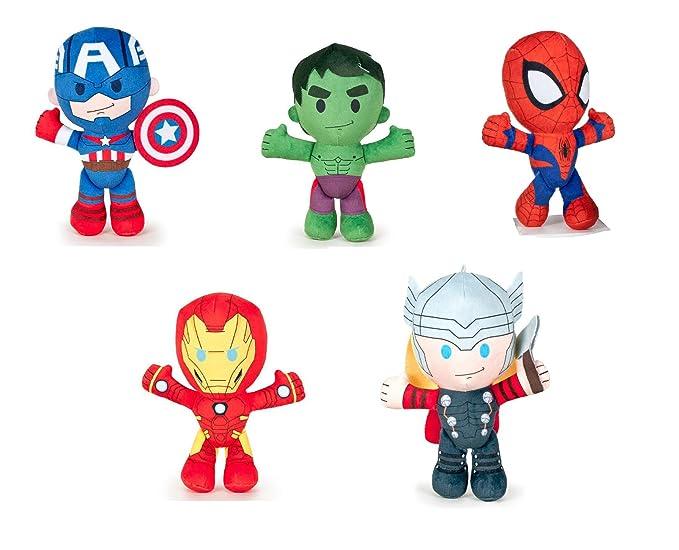 Los Vengadores (The Avengers - Marvel) - Peluche Hulk 21cm calidad super soft: Amazon.es: Juguetes y juegos