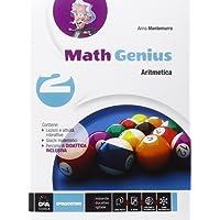 Math genius. Aritmetica-Geometria-Palestra delle competenze. Per la Scuola media. Con e-book. Con espansione online: 2