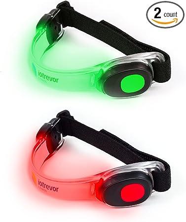 Gray//Orange Fitletic Swift LED Running Headlamp