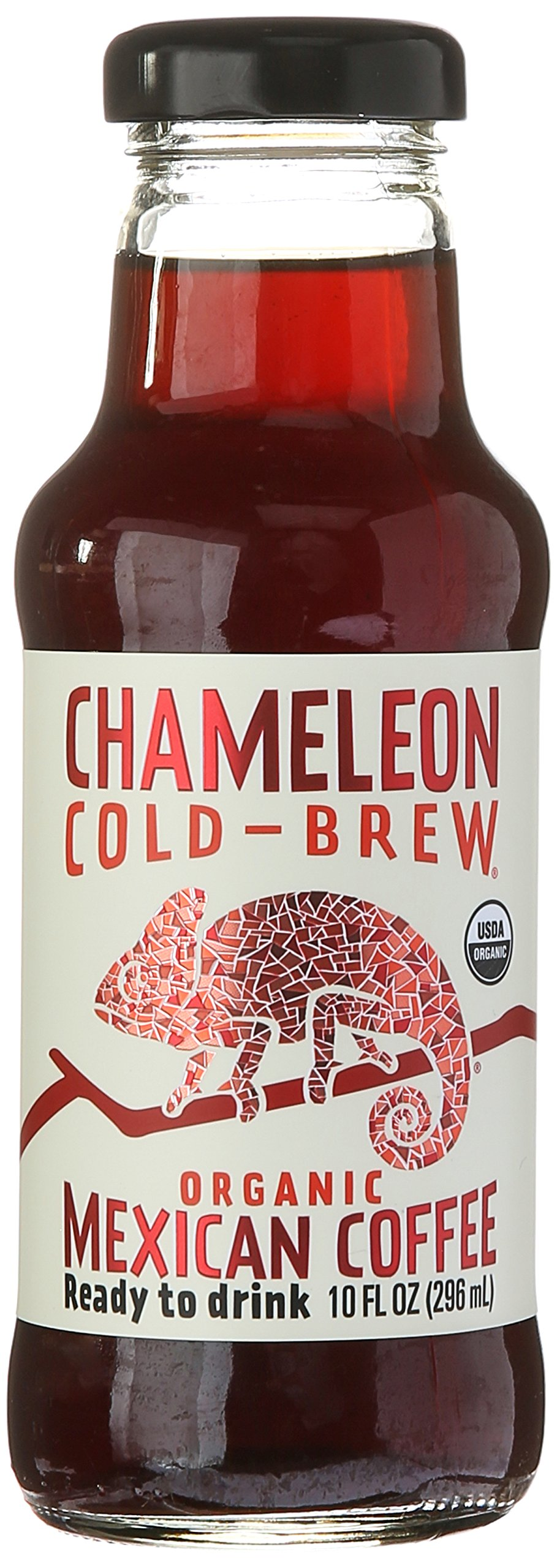 Chameleon Cold-Brew, Ready-to-Drink Mexican Coffee, 10 oz
