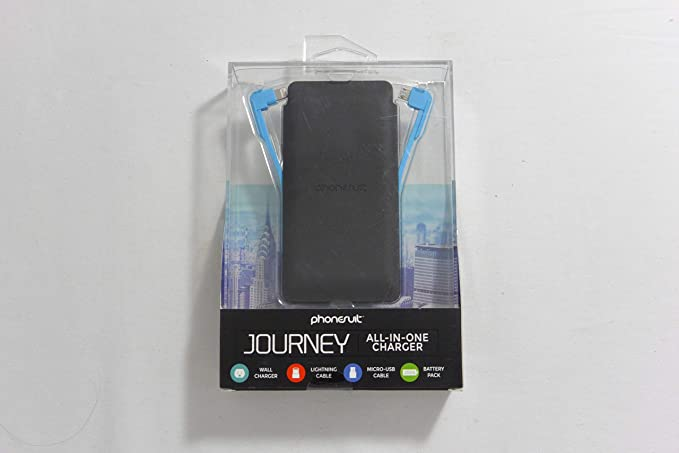 Amazon.com: Phonesuit Cargador de viaje All-in-One 3500 mAh ...