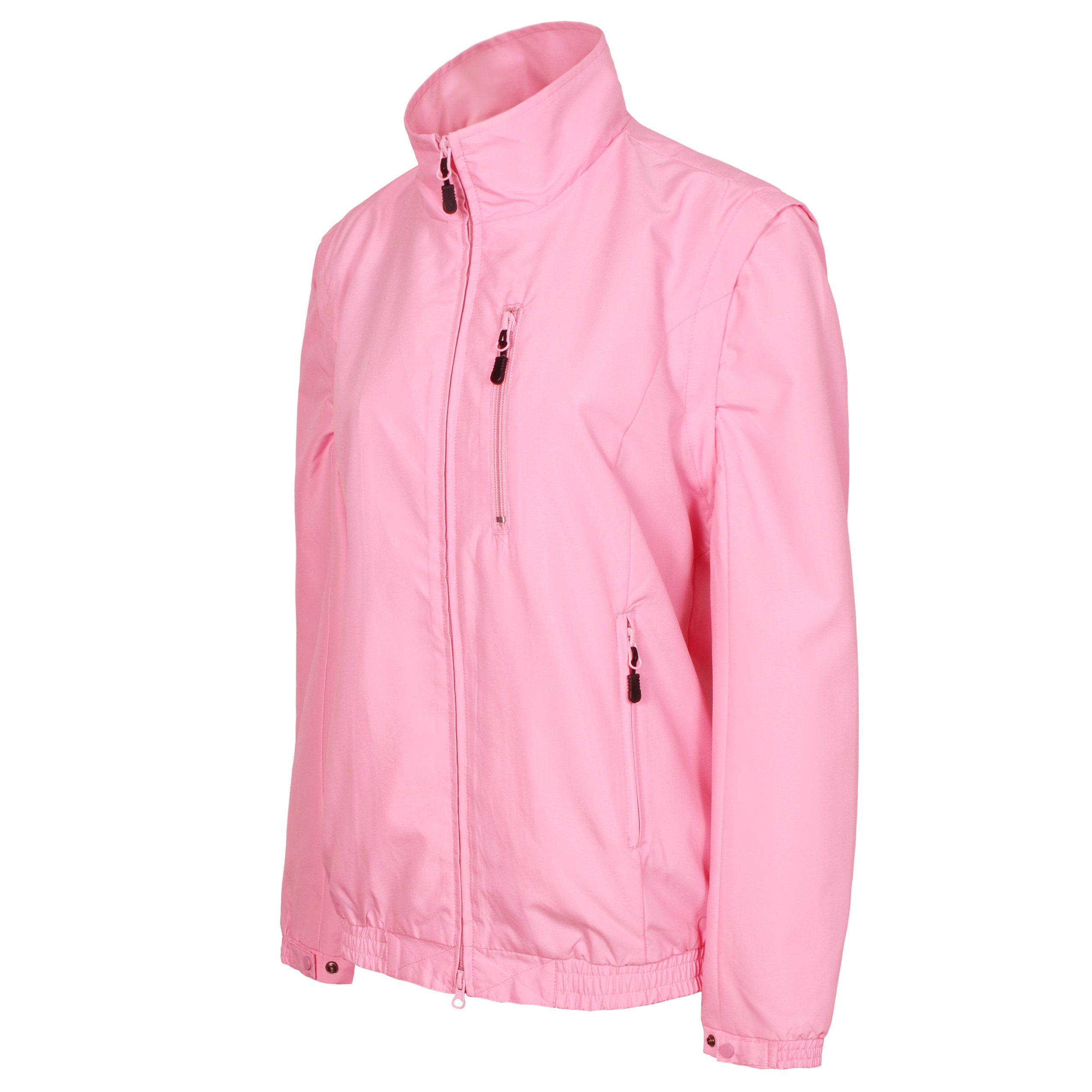 Tres Bien Golf Women's 2 in 1 Convertible Jacket / Vest (Large, Pink) by Tres Bien Golf (Image #3)