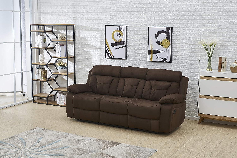 Amazon.com: Betsy Furniture 8005 Juego de 3 piezas de tela ...