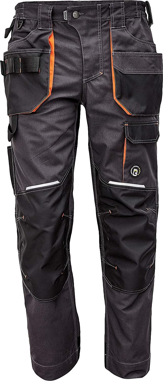 DINOZAVR Emerton Plus Pantalones de Trabajo para Hombre con Bolsillos para Rodillera y Cintura El/ástica