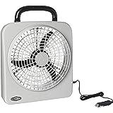 """RoadPro RP8000 10"""" Indoor/Outdoor Dual Power Fan"""