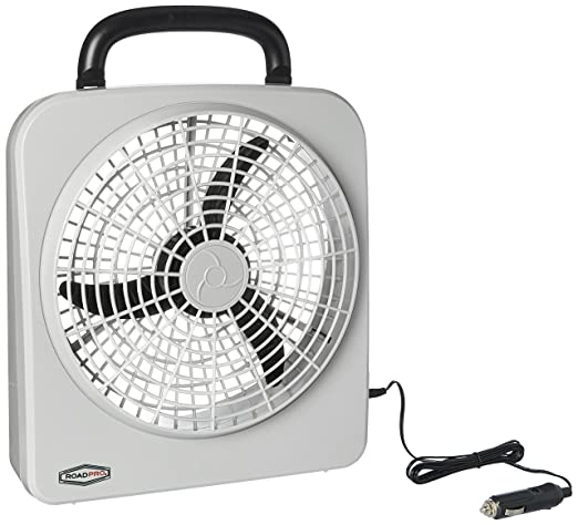 Amazon Com Roadpro Rp8000 10 Indooroutdoor Dual Power Fan Automotive