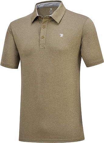 YSENTO Mens Polo Shirts Casual Short Sleeve Golf Tennis Classic Tops Polo T-Shirts