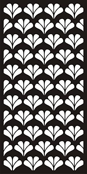 Alstone Pvc Jaali 8x4ft Multicolour Amazonin Home