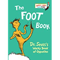 the foot book dr seusss wacky book of opposites