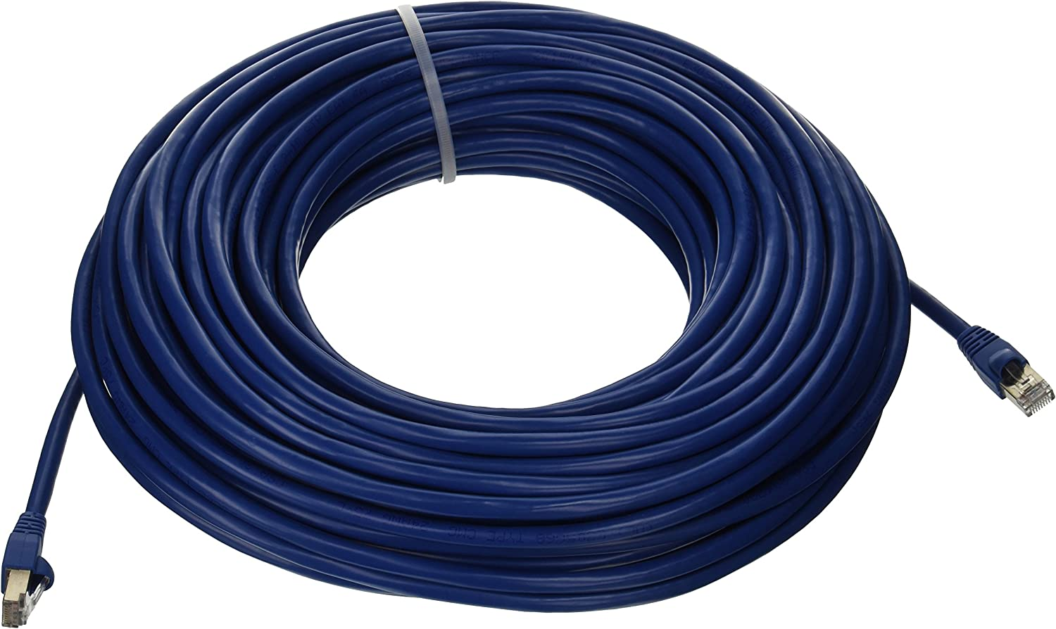 Blue 100/% Copper 24Awg UTP Cat5 Patch Cable 100 Ft,