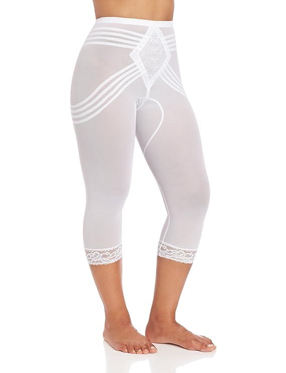 06dec9602a Rago Women s Capri Pant Liner - Shaper at Amazon Women s Clothing store  Thigh  Shapewear