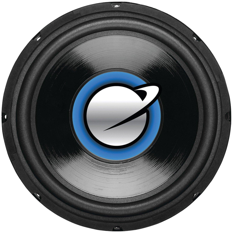 Planet Audio Car Subwoofer Series ''Torque'', Model ''TQ12S'' | 12 inch, Single 4 Ohm Voice Coil, 1500 Watts