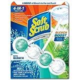 Soft Scrub 23400056750 4-in-1 Rim Hanger Toilet Bowl Cleaner, Alpine Fresh with Bleach, 6 Count