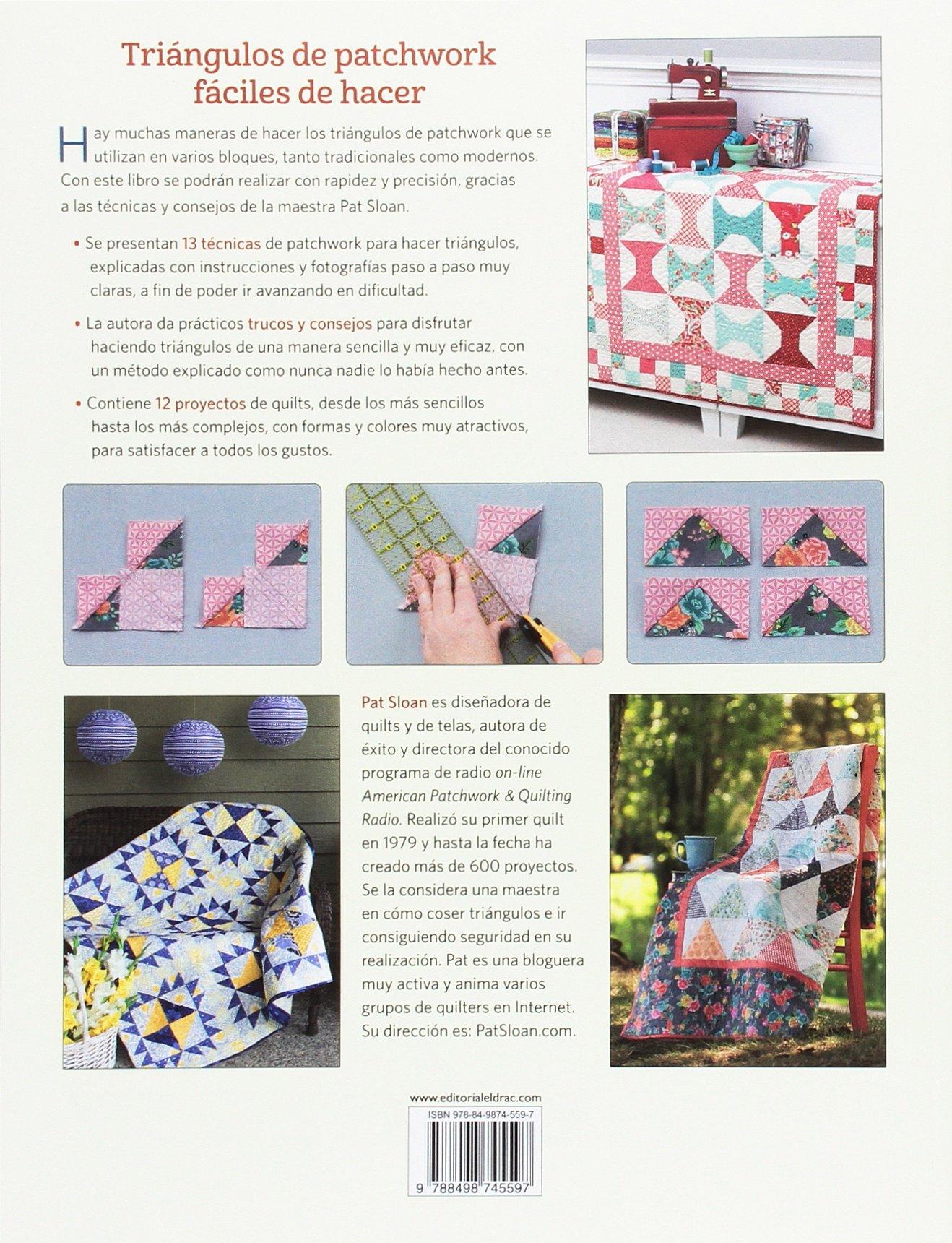 Cómo coser triángulos. 13 técnicas de patchwork fáciles de hacer ...
