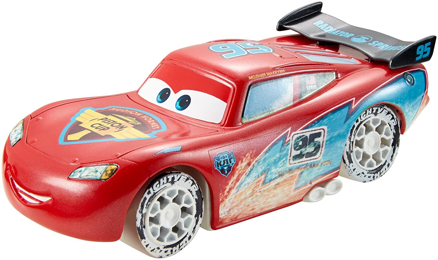 Amazon.com Disney/Pixar Cars Ice Drifters 143 Scale Pullback Drifter Vehicle Lightning McQueen Toys u0026 Games  sc 1 st  Amazon.com & Amazon.com: Disney/Pixar Cars Ice Drifters 1:43 Scale Pullback ... azcodes.com