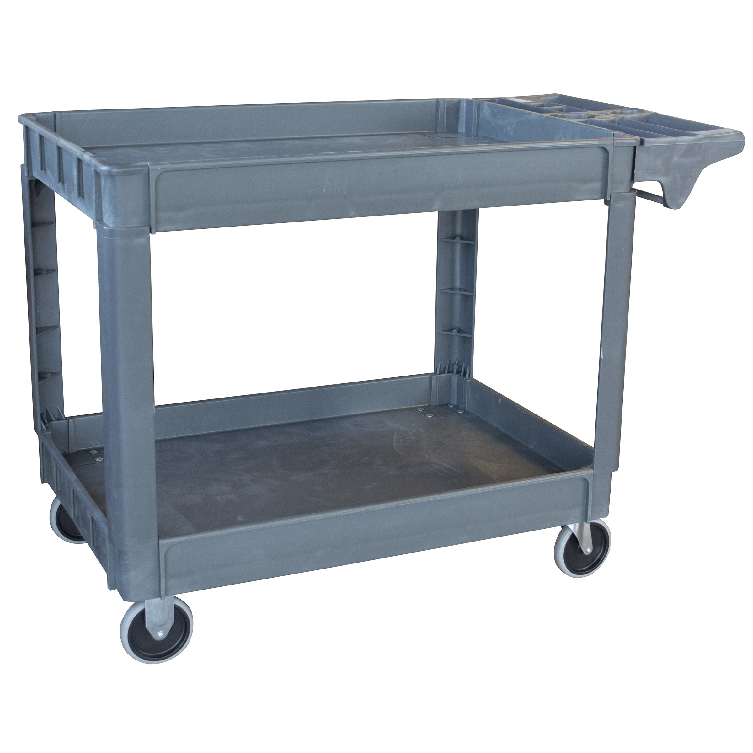 Pro Series SCART550XL Two-Shelf Heavy Duty Utility Cart with 550 lb Capacity, X-Large