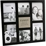 """Impressions MDF Multi Aperture Frame - 6 Pictures """"Family"""""""
