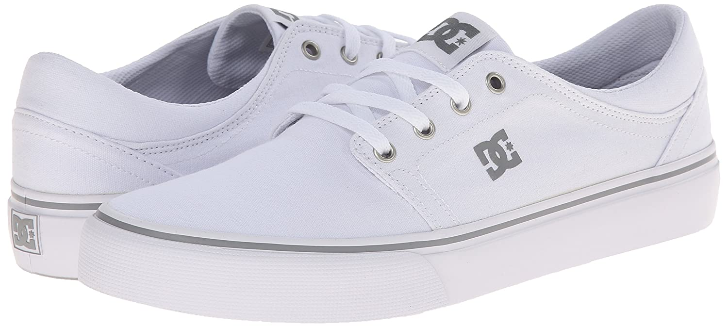 DC Men's Trase Tx M Shoe White Sneakers - 8.5 UK/India (42.5 EU)(9.5 US):  Buy Online at Low Prices in India - Amazon.in