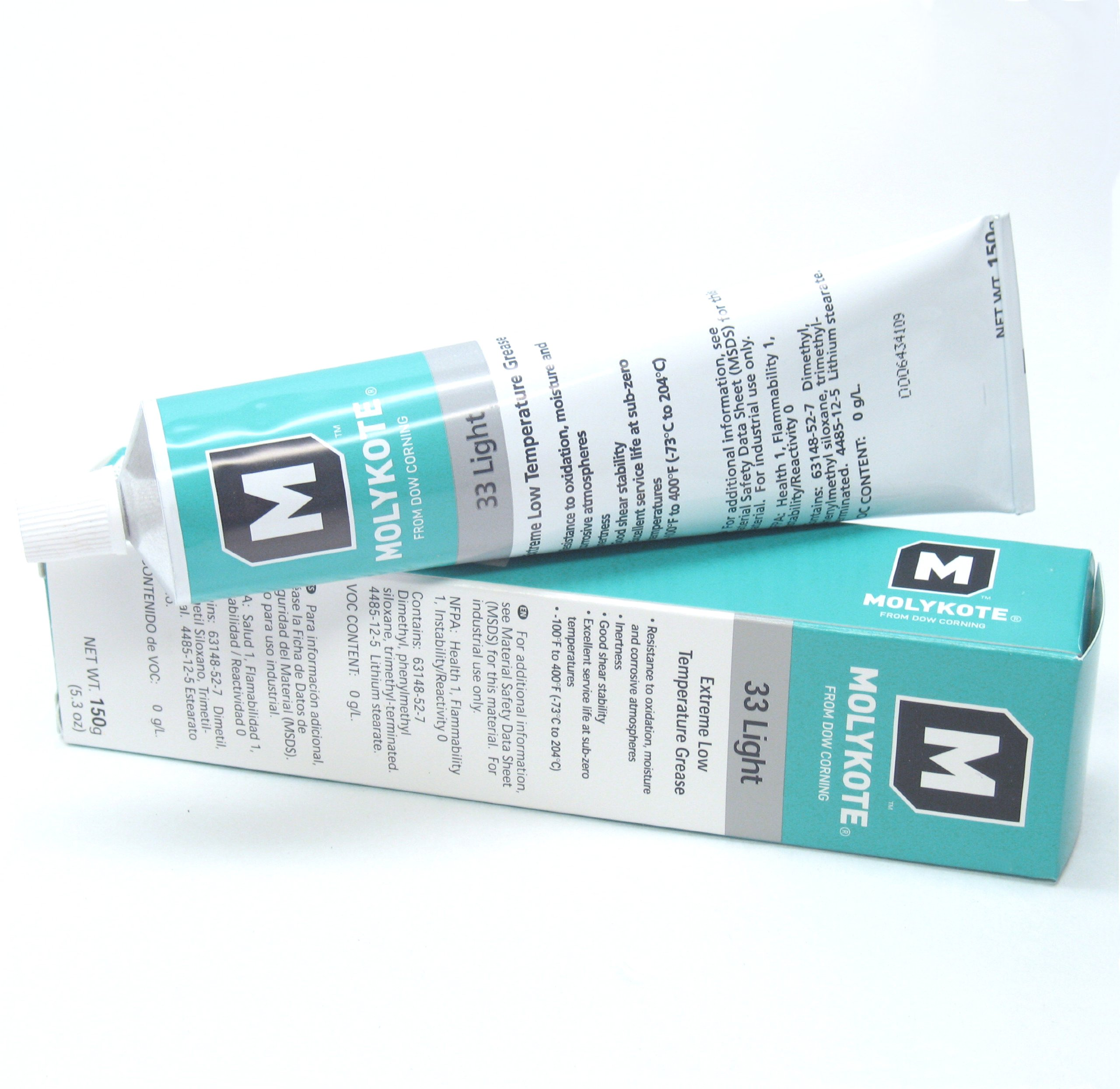 Dow Corning Molykote 33 Light Grease Lubricant 5.3oz 150g Tube by Dow Corning