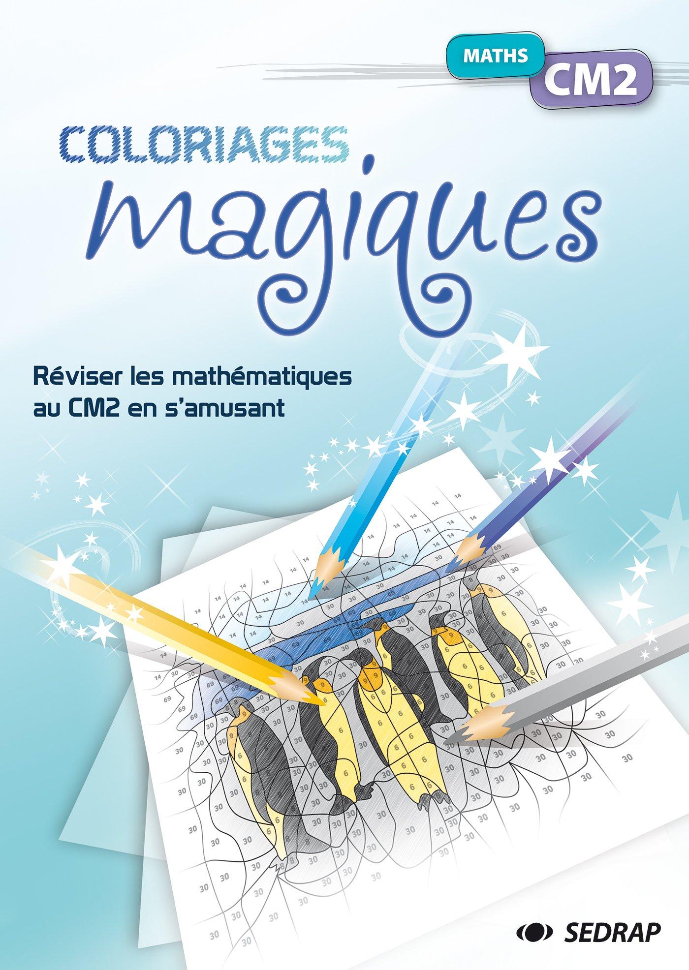 Amazon Coloriages magiques Maths CM2 Marie Laure Lamotte Alice Turquois Livres