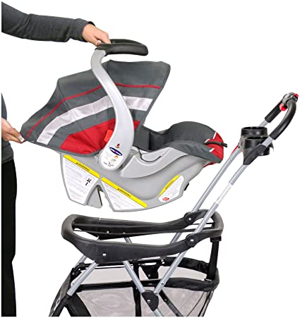 Amazon.com : Baby Trend Snap N Go EX Universal Infant Car Seat ...