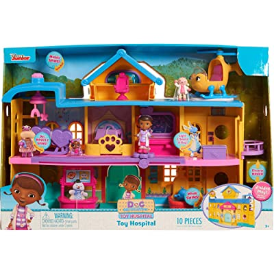 Just Play Doc McStuffins Toy Hospital Playset: Toys & Games [5Bkhe0302596]