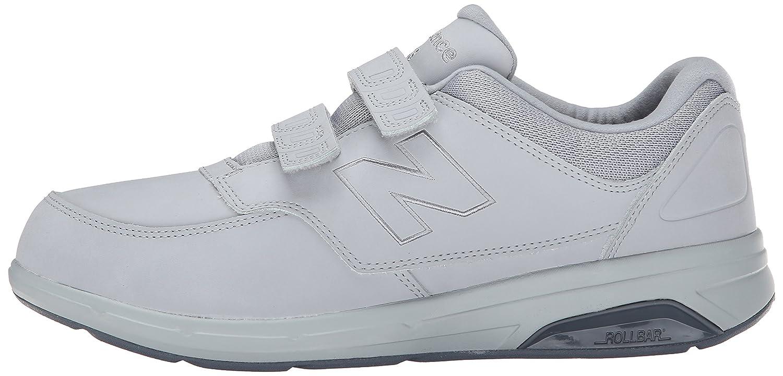812 Velcro Zapato Confort Al Caminar Negro De Los Nuevos Hombres De Balance 375iKu