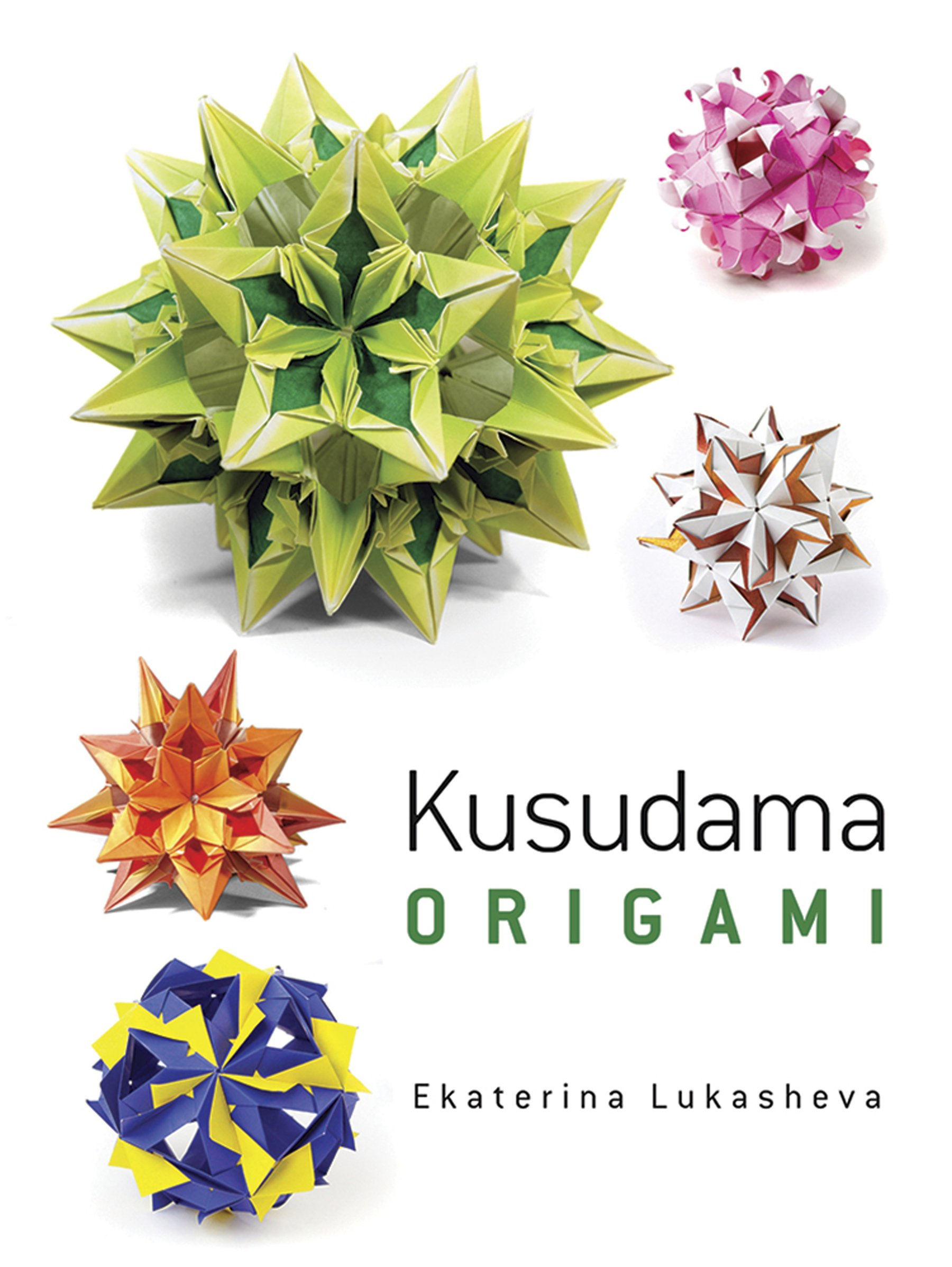 Modular Origami - balls and polyhedra folded by Michał Kosmulski | 2397x1800