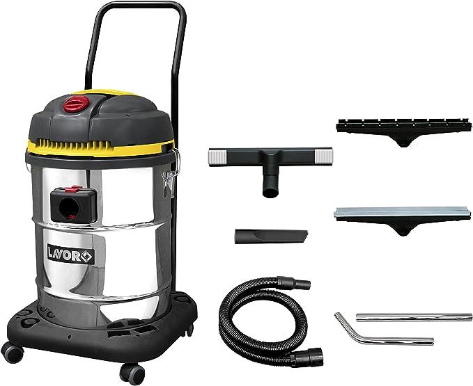 Lavor WD 255 XE Aspiradora con saco, 1400 W, gris: Amazon.es: Hogar