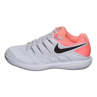 6fa73f8c53f44 NIKE Chaussures de Tennis Femme air Zoom Vapor x Clay aa8025 001 blanc-42