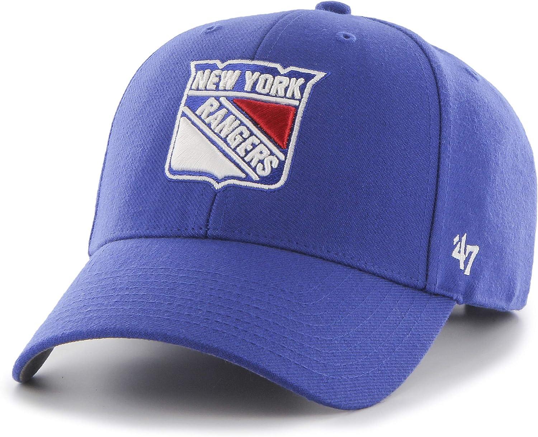 Cotton Blend Unisex Baseball Cap Premium Quality Design and Craftsmanship by Generational Family Sportswear Brand NHL Hockey Teams 47 MVP Cap