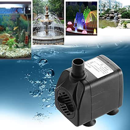 Meditool Bomba sumergible Bomba de agua bomba de Pecera Acuario Jardín ,Estanque, Fuente 500