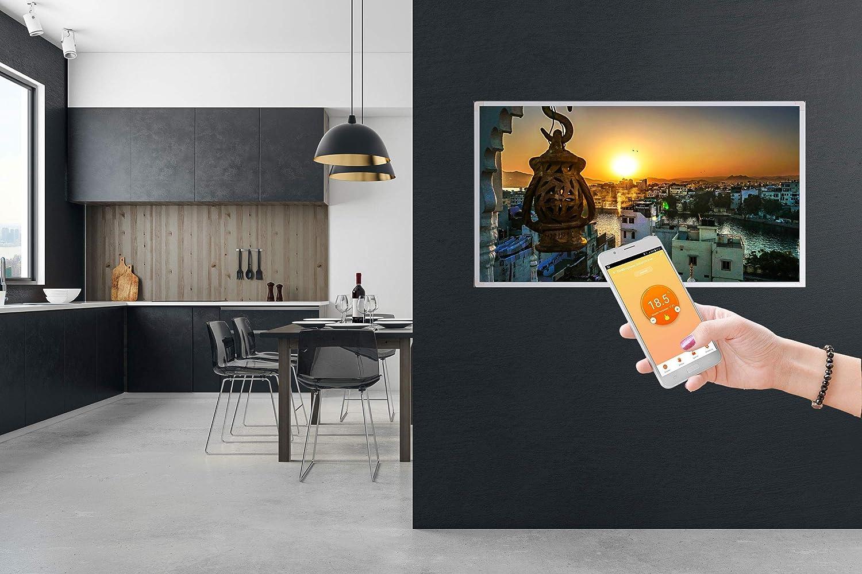 450W//600W//800W//1000Watt Infrarotheizung mit T/ÜV Smart Home Digitalthermostat per Handy//App steuer- und programmierbar IOS und Android Bildheizung Spiritualit/ät Meditation Entspannung