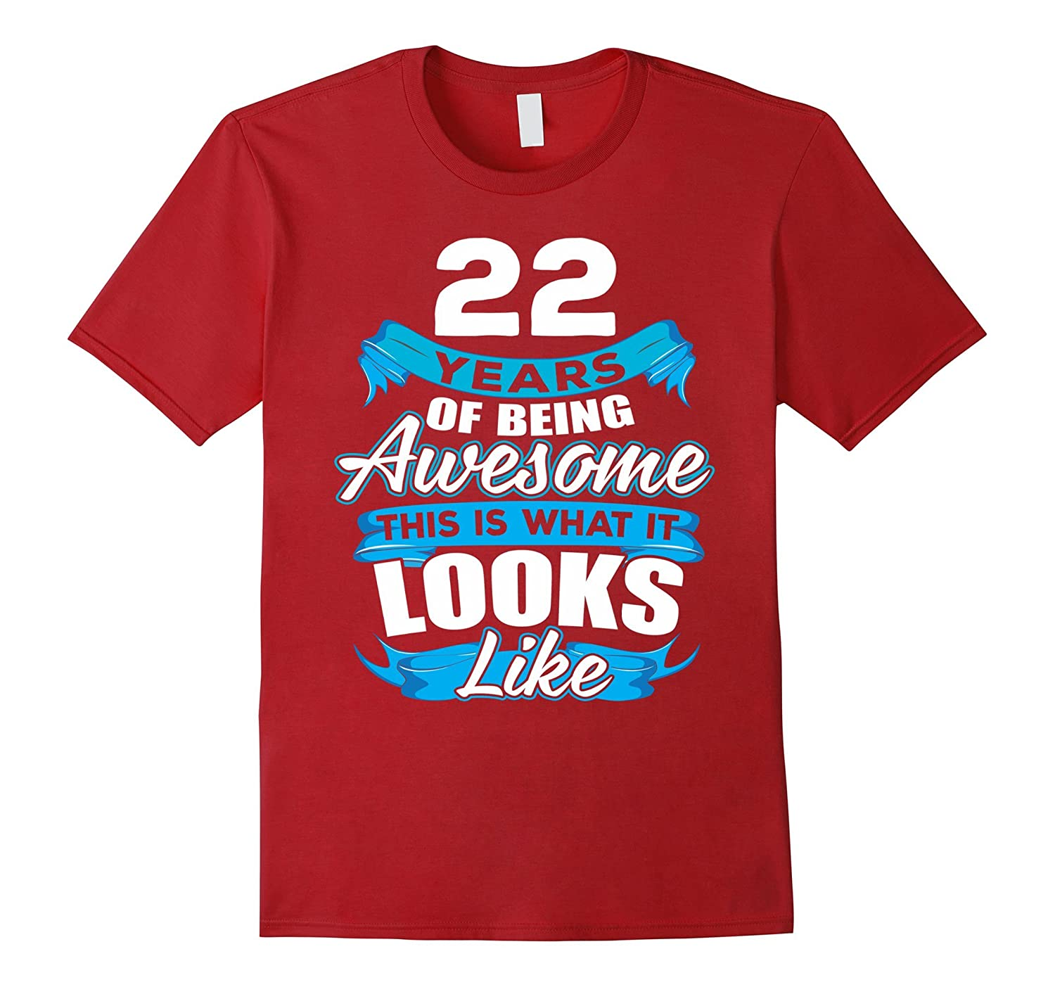 22 Years Old Being Awesome Shirt
