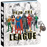 Playhouse DC Comics Join The Justice League Lock and Key Lined Page Diary for Kids
