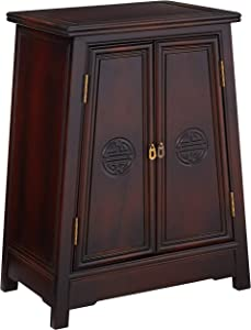 Oriental Furniture Rosewood Long Life Cabinet