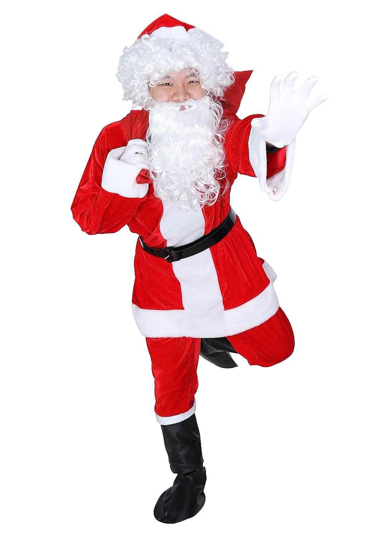 Amazon.com: viletke adultos disfraz de Papá Noel Navidad ...