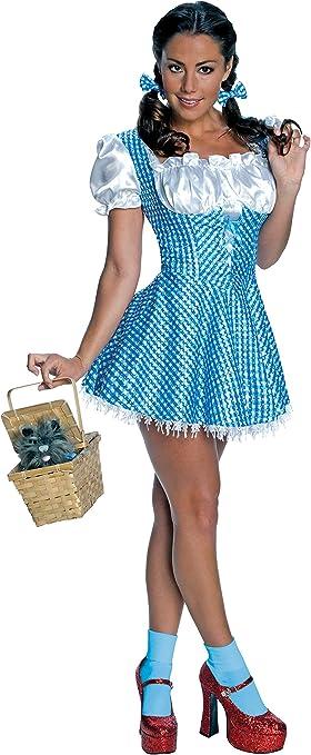 El Mago de Ox - Disfraz de Dorothy Deluxe para mujer, Talla S ...