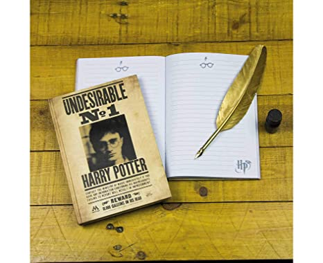 HARRY POTTER- Cuaderno DIN A5 Indeseable No. 1, (Elbenwald ...