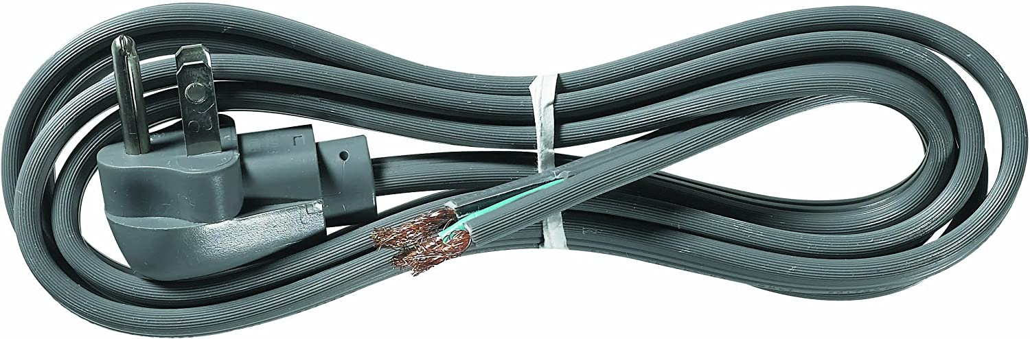 Grey Woods 3570 16//3 SPT-3 3-Feet Right Angle Replacement Power Supply Cord