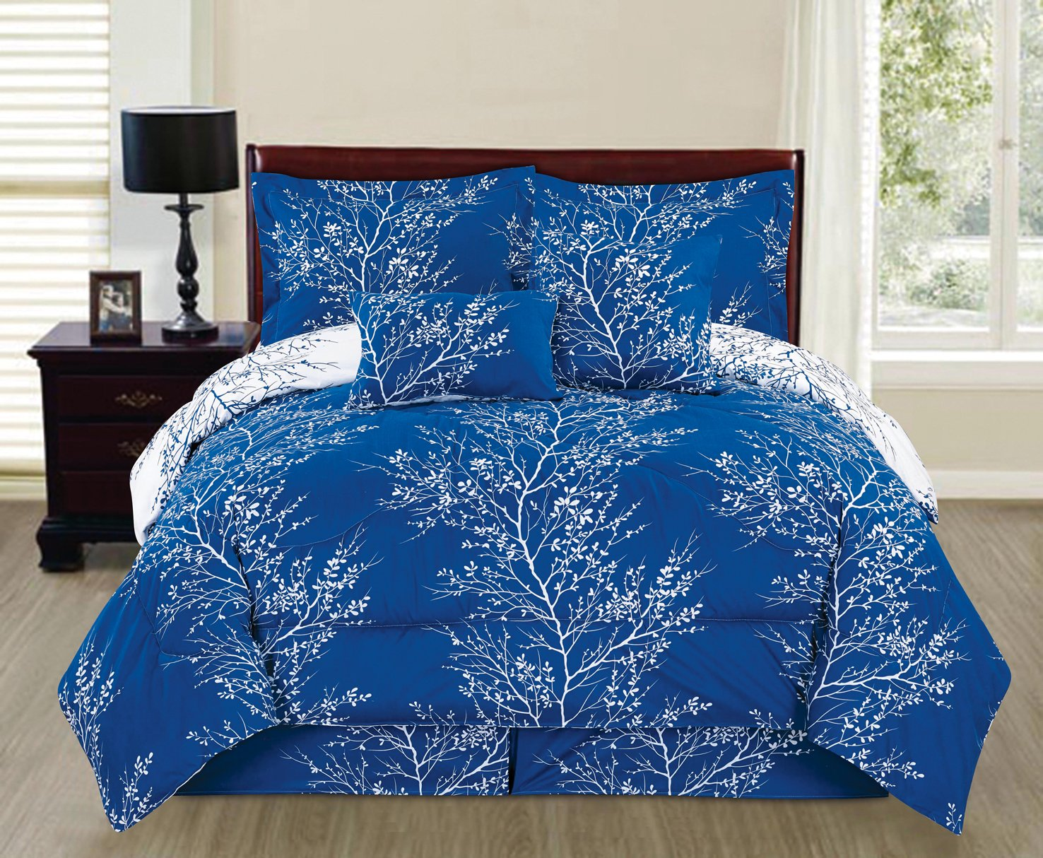 comforter queen victoria home p mocha ravenna piece sets damask set blue q light bedding lavish studio burgundy full