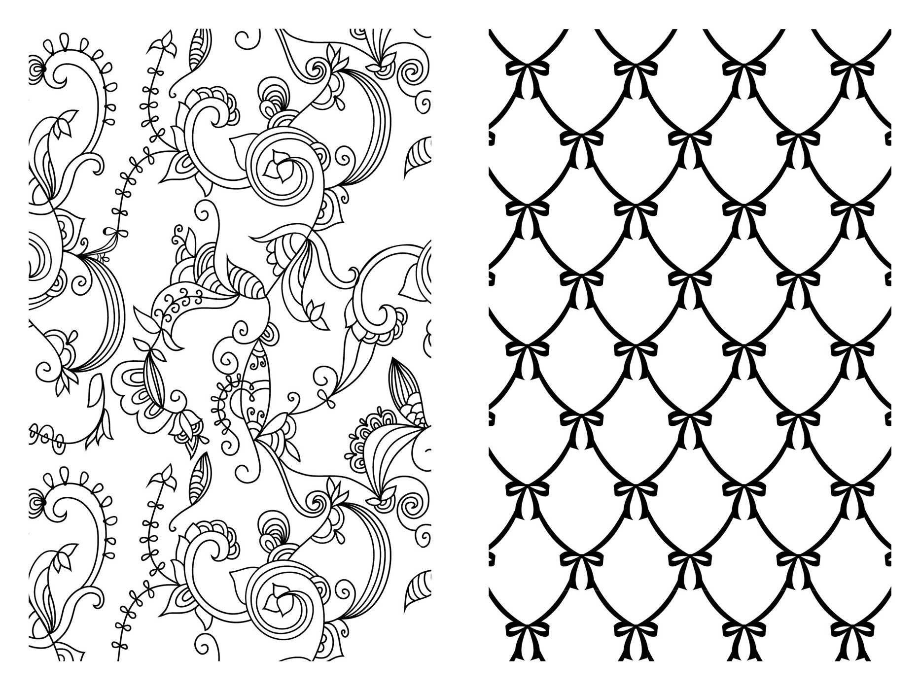 Amazon.com: Pocket Posh Adult Coloring Book: Pretty Designs for Fun ...