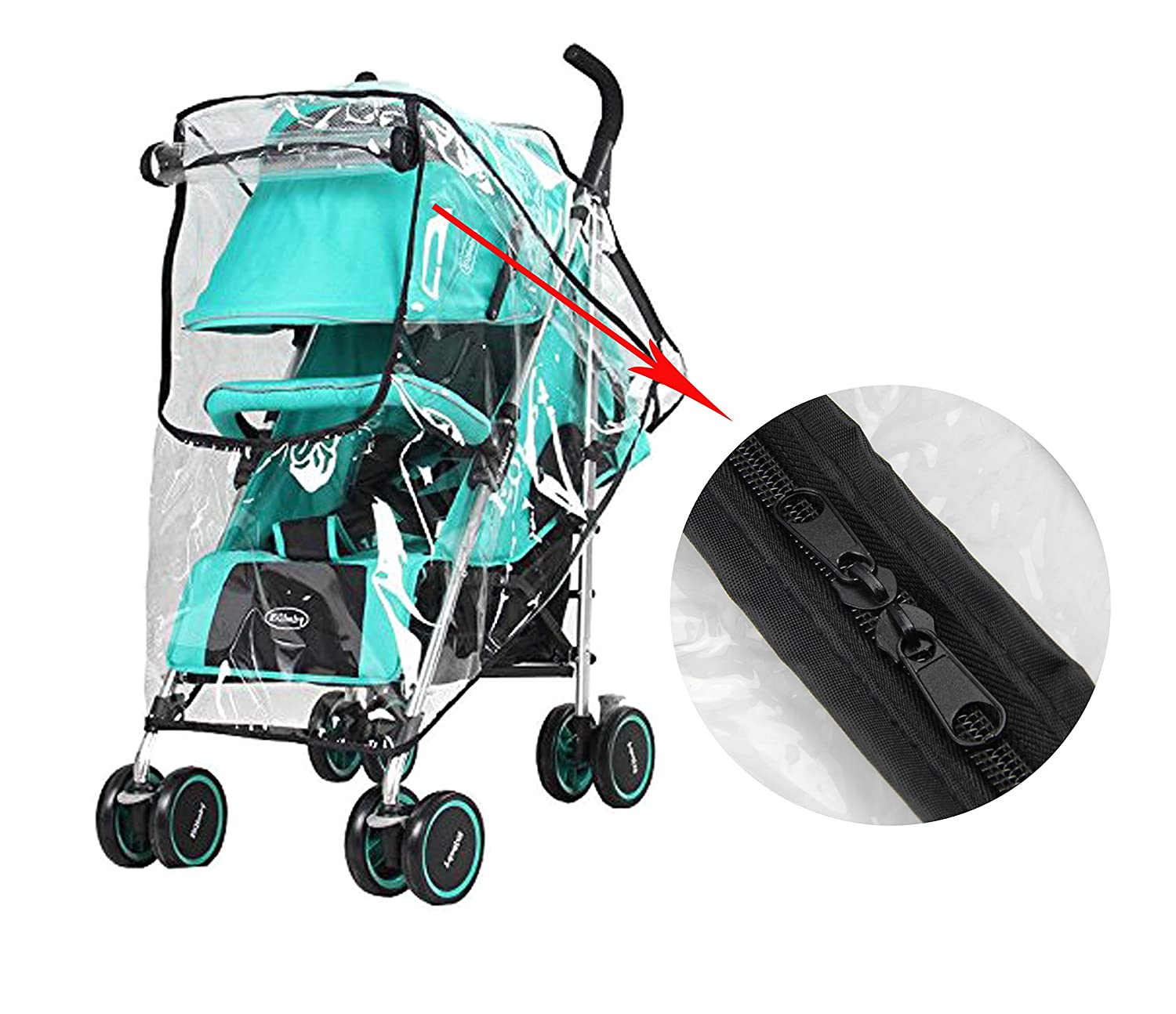 Quality In Raincoat For Stroller Cover Baby Car Seat Cover Canopy Waterproof Dust Stroller Pram Rain Cover For Baby Carriage Excellent